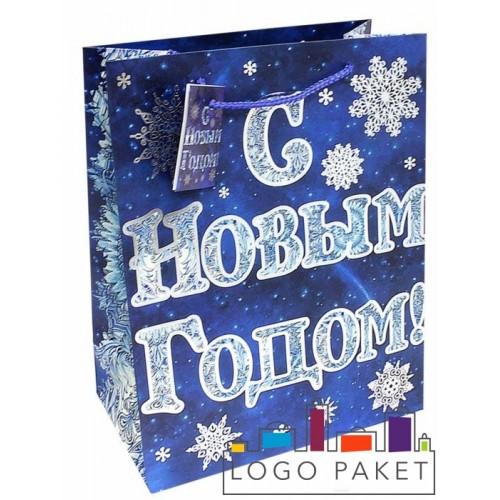 Подарочные пакеты «С Новым Годом» на заказ