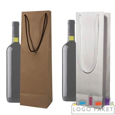 Пакеты бумажные под бутылку