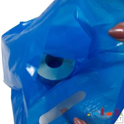 Готовый ПВД пакет синий