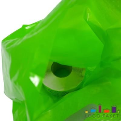 Готовый ПВД пакет зеленый