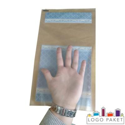 Готовые пакеты для пельменей с одной прозрачной стороной