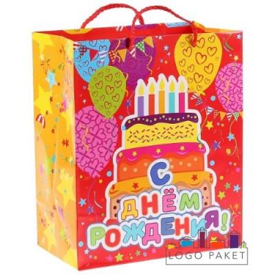 Готовые подарочные пакеты «С днем рождения»