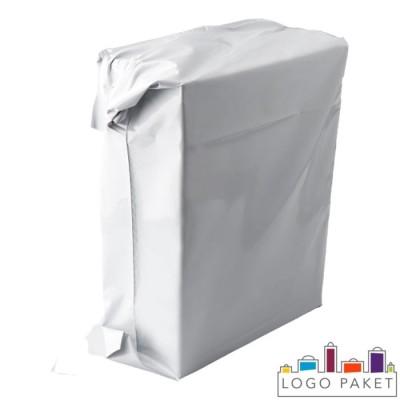Пакет с боковыми фальцами без ручек с запайкой