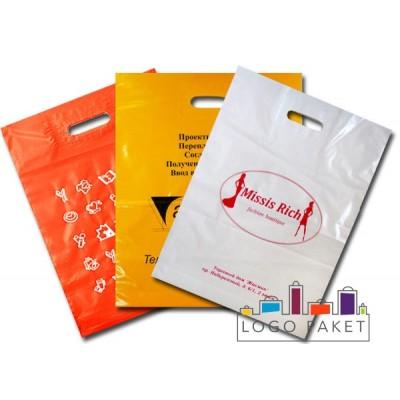 Фирменные пакеты с логотипом