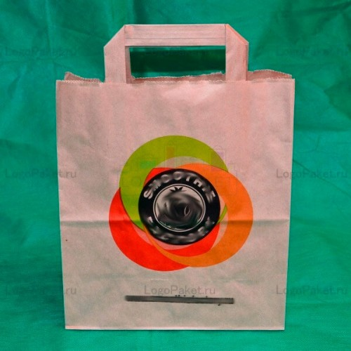 Крафт-пакеты с логотипом на заказ