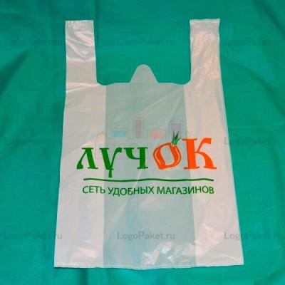 Пакеты майка с логотипом на заказ