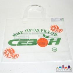 Изготовление пакетов майка с логотипом