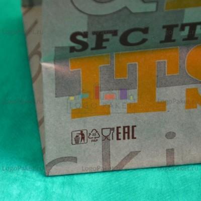 Печать на крафт-пакетах