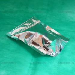 Пакеты Дой-пак металлизированные с замком зип-лок