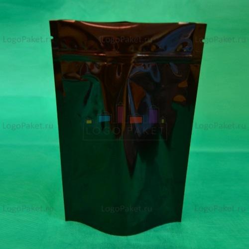 Пакеты Дой-пак чёрные с замком зип-лок