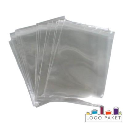 Пакеты больших размеров прозрачные без логотипа
