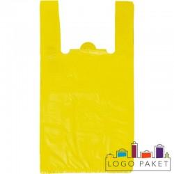 Эконом пакеты-майка без печати цветные дешевые