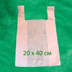 Пакет майка 20х40 см