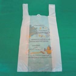 Пакет майка 32х60 см