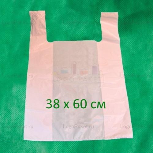 Пакет майка 38х60 см