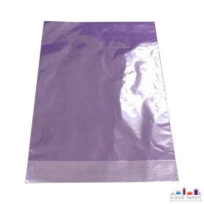 Пакет под запайку с донной складкой цветной