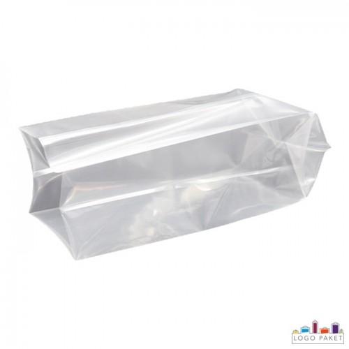 Пакеты под запайку с  боковыми складками
