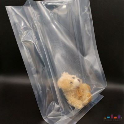 Пакет под запайку с боковыми складками