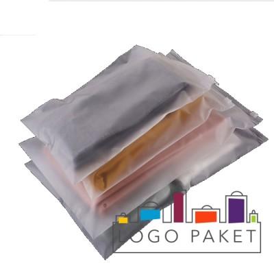 Готовые пакеты zip-lock с бегунком матовые