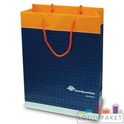 Бумажные пакеты с логотипом и без