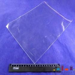 БОПП  пакет с клапаном, клейкой лентой, с боковыми швами