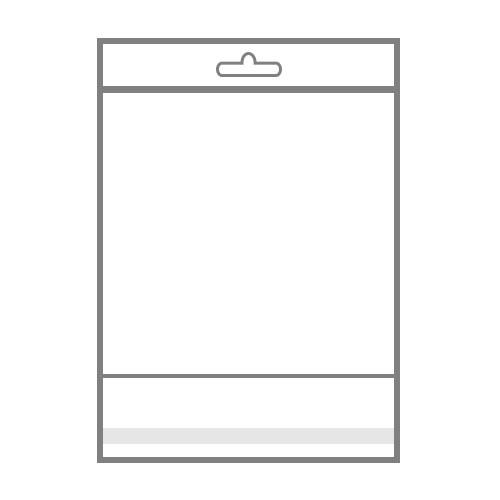 БОПП  пакет с клапаном и отверстием для дополнительной вставки