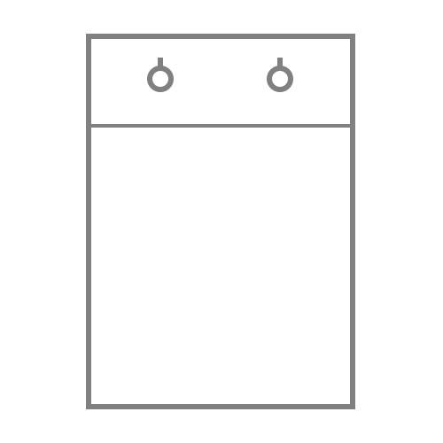 БОПП пакет с клапаном и клипсой без донной складки