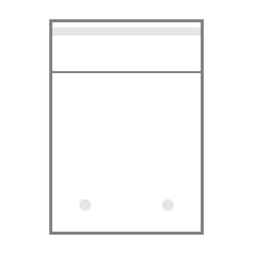 БОПП пакет с клапаном, двумя пробивными отверстиями по низу пакета