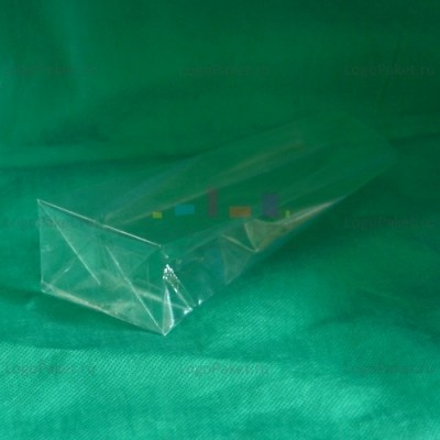 БОПП пакет 60*160*40 мм с прямоугольным плоским дном