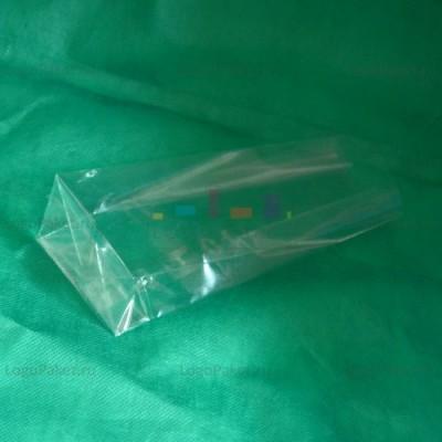 БОПП пакет 70*175*40 мм с прямоугольным плоским дном