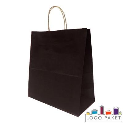 Крафтовые пакеты черные