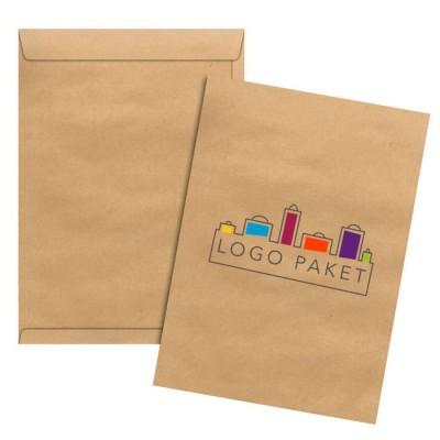 Крафт конверты с логотипом