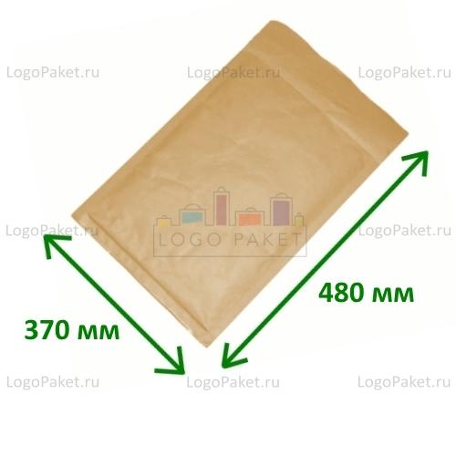 Коричневый конверт крафт 370х480