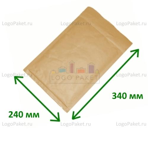 Коричневый конверт крафт 240х340