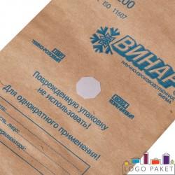 Крафт-пакеты для стерилизации с индикатором