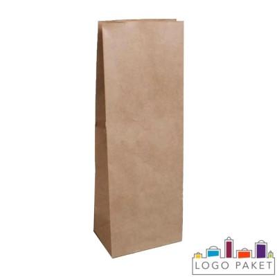 Крафт-пакет фасовочный 27,5х9,0х6,5 см с прямоугольным дном