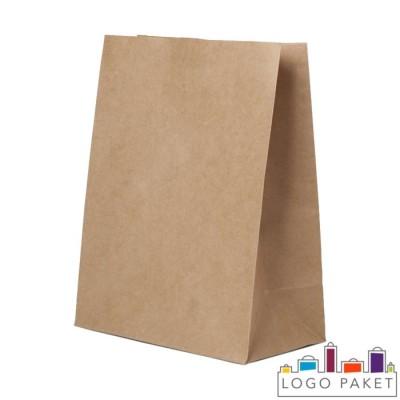Крафт-пакеты для еды на вынос 220х120х290 мм
