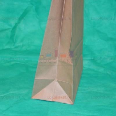 Крафт пакет 35,5х44х14 с кручеными ручками