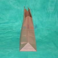 Крафт пакет 28х24х14 с плоскими ручками