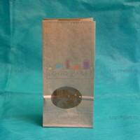 Крафт-пакеты 170*80*50 с округлым прозрачным окном заказать в интернет-магазине
