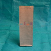 Полосатые крафт-пакеты 210*70*40 с внутренней ламинацией заказать в интернет-магазине