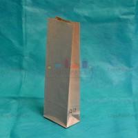 Полосатые крафт-пакеты 210*70*40 с внутренней ламинацией