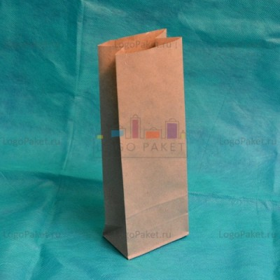 Крафт-пакеты 230*80*50 для чая и кофе