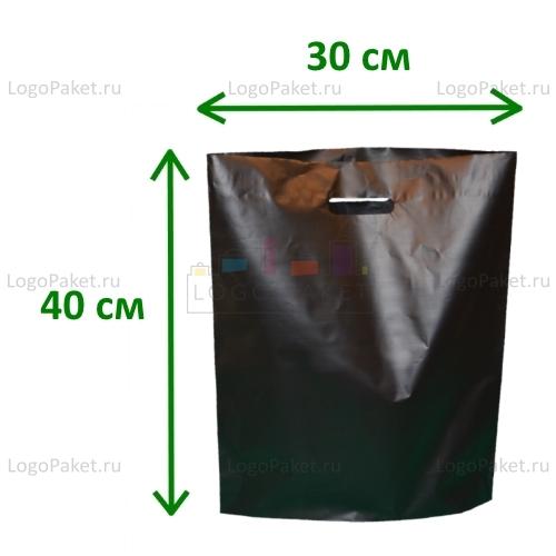 Пакет пэперматч 30х40