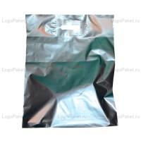 Пакет ПНД с вырубной ручкой 20х30 и донной складкой заказать в интернет-магазине