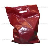Пакет ПНД с вырубной ручкой 70х60 и донной складкой заказать в интернет-магазине