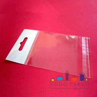 Пакет ПП 15х22 с еврослотом и клеевым клапаном