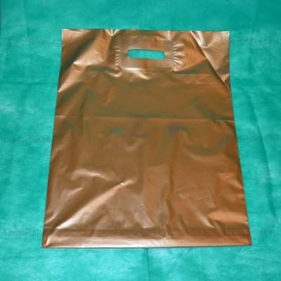 Пакет ПСД 50х60 см с вырубной ручкой и донной складкой