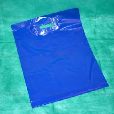 Пакет ПСД с вырубной ручкой 70х60 и донной складкой