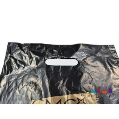 Пакет ПСД с вырубной неукрепленной ручкой 30х40 см
